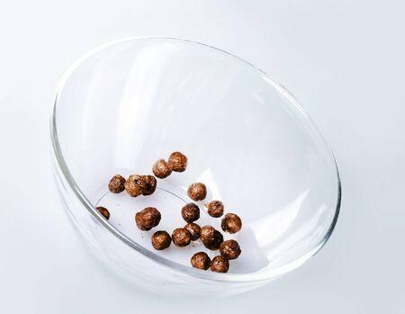 Breakfast - chocolate balls. Stock Photo - 6639340