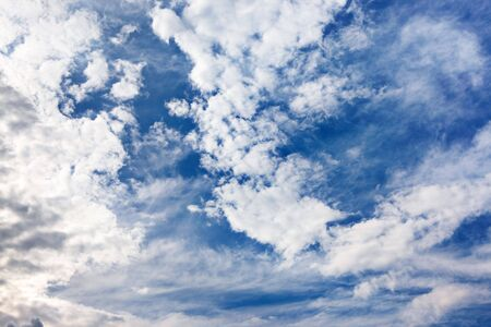 Background of bright blue sky. Stock Photo - 6780511