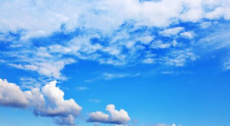 Background of bright blue sky. Stock Photo - 6780506