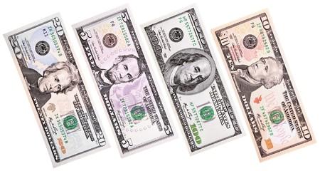 dollars close-up
