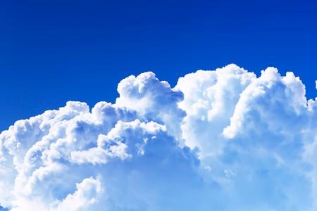 Achtergrond van de hemel. Stockfoto