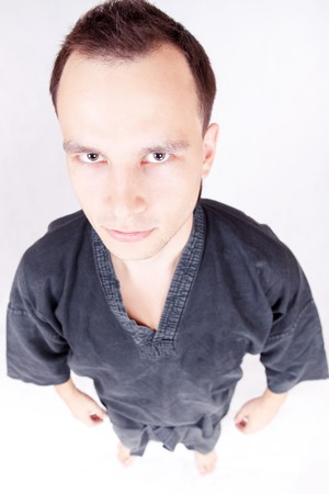kungfu sportsman, martial arts  photo