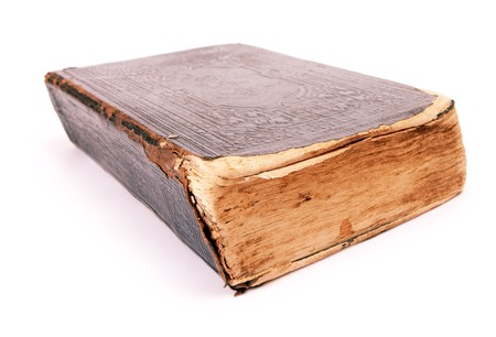 old book isolated on a white background Stock Photo - 7495821