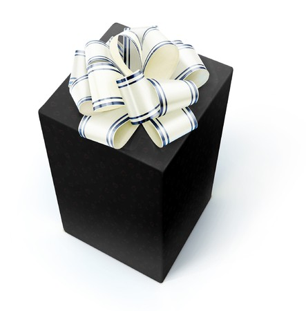Gift isolated on a white.
