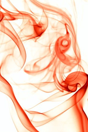 red smoke: Abstract background of beautiful color smoke waves.