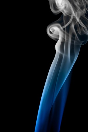 Abstract background of beautiful color smoke waves. Stock Photo - 7593133