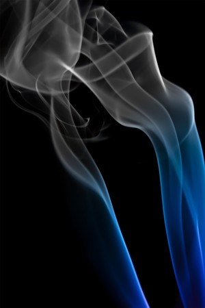 Abstract background of beautiful color smoke waves. photo
