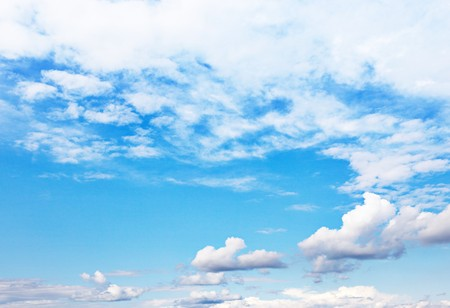 Background of bright blue sky. Stock Photo - 7662872