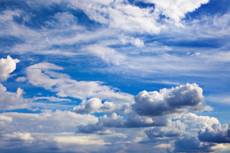 Background of bright blue sky. Stock Photo - 8144573
