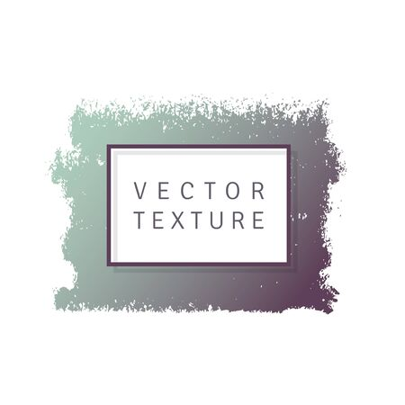 daub: Vector color texture shape on a white background. Element for your design.