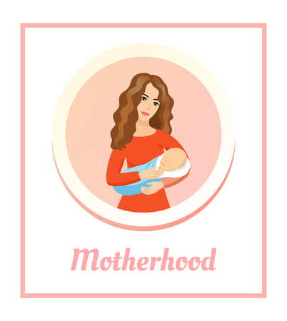 motherhood: Motherhood Illustration