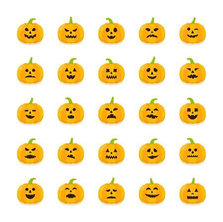 memes: Halloween Pumpkin stickers set