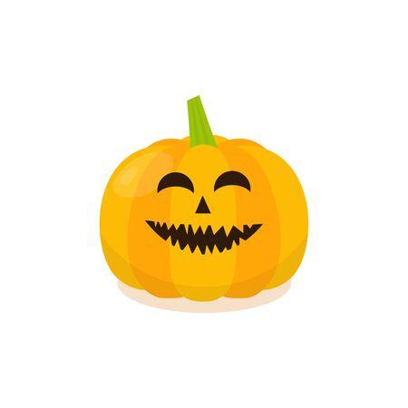 pumkin: Halloween Pumpkin Icon. Isolated pumkin illustration.