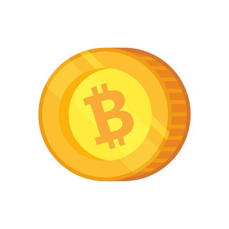 Bitcoin Cash vector icon. Cryptocurrency with huge market capitalization. Based on blockchain technology.