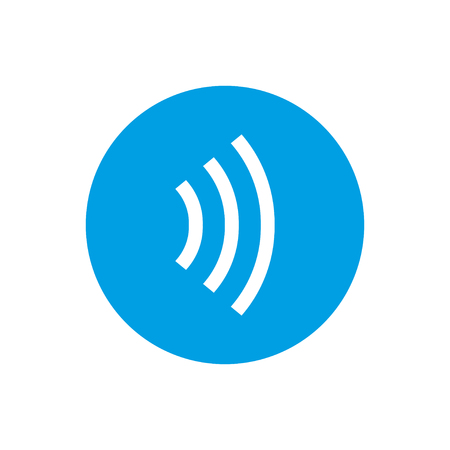Tap to pay concept - vector sign. NFC concept. Contactless payment icon.