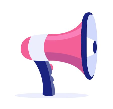 Megaphone Vector icon. Advertising business concept illustration.