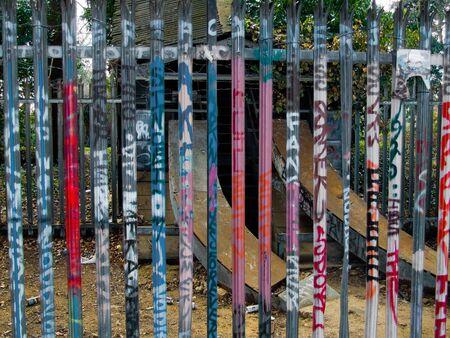 deface: graffitti, Stock Photo