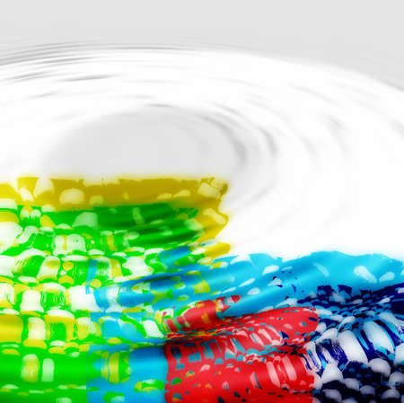 colourfull: colourfull background with water ripples