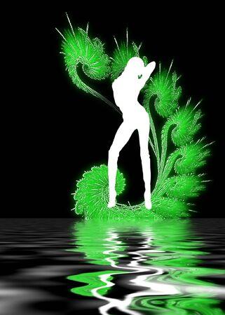set in a night club dancing girl