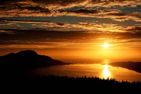 Scotland sunrises Foto de archivo - 140905495