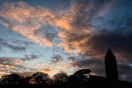 Scotland sunsets and sunsets Foto de archivo