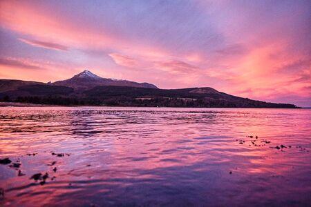 Scotland sunrises and sunsets