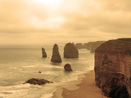 12 Apostles from Australias Great Ocean Road photo