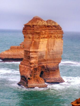 great bay: Great Ocean Road - Blowhole in HDR