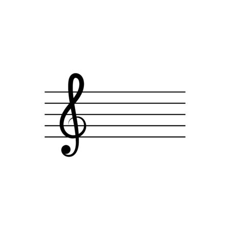 Music note Icon Vector 向量圖像