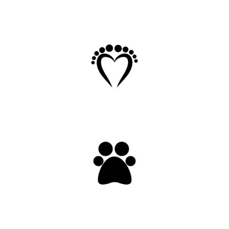 Foot  Logo Template vector symbol nature Illustration