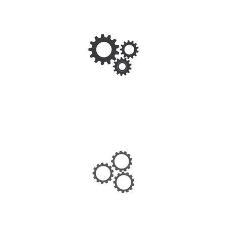 gear icon logo vector icon illustration
