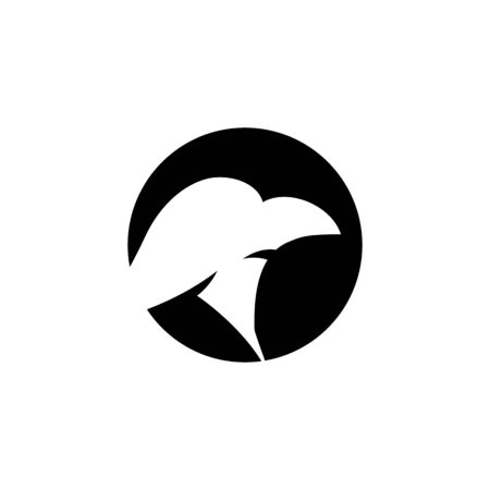 Falcon eagle birdWave Logo Template vector symbol nature
