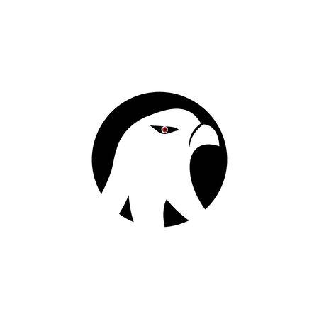 Falcon Logo Template vector illustration design Archivio Fotografico - 134963173