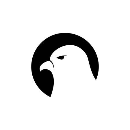 Falcon Logo Template vector illustration design Archivio Fotografico - 134963200