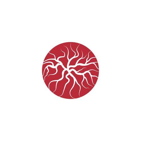 Veins Logo Template vector symbol nature