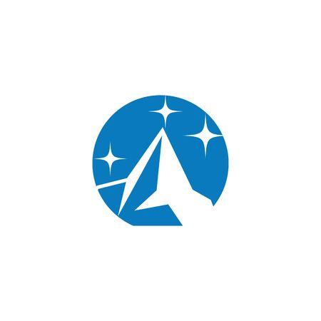 Ice berg Logo Template vector symbol nature ЛОГОТИПЫ