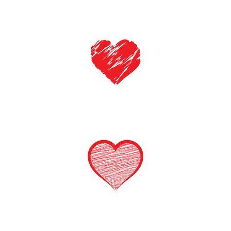 Beauty Love Vector icon illustration design Template