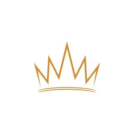 Crown Logo Template vector icon illustration design 版權商用圖片 - 138185787