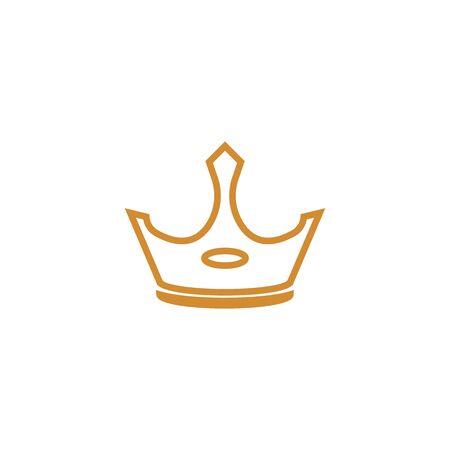 Crown Logo Template vector icon illustration design 版權商用圖片 - 138185812