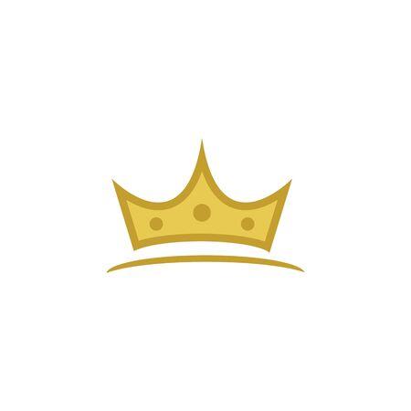 Crown Logo Template vector icon illustration design 版權商用圖片 - 138185837