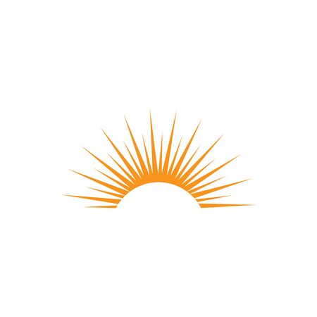 Sun Vector illustration Icon Logo Template design Logo