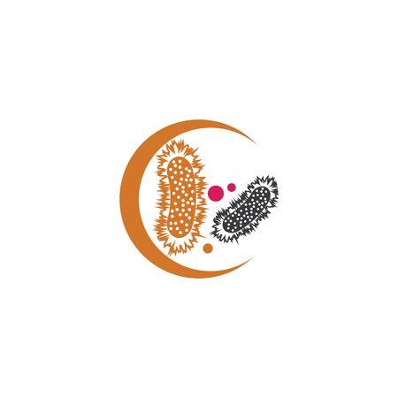 Bacterial Logo Template vector symbol nature Logo
