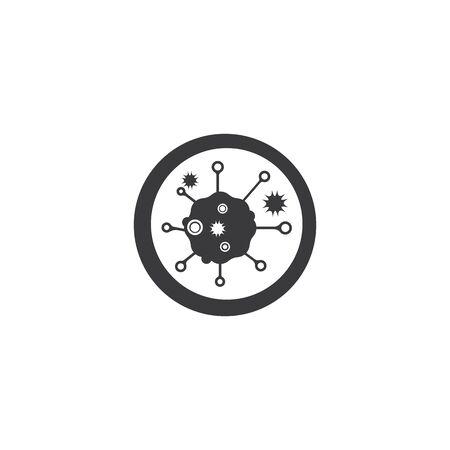 Bacterial Logo Template vector symbol nature