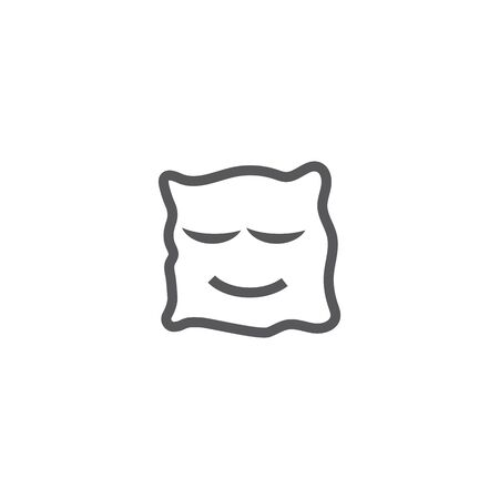 Pillow Template vector symbol nature