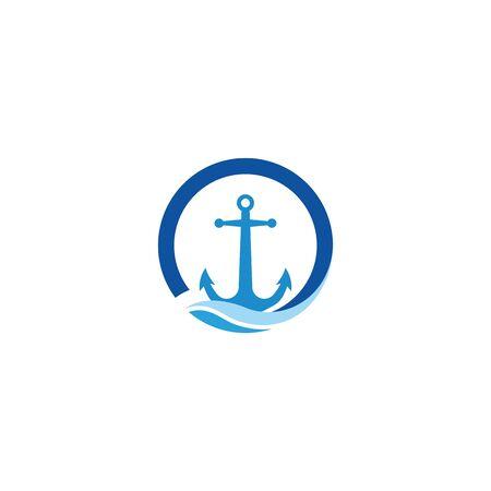 Anchor Logo Template vector symbol nature