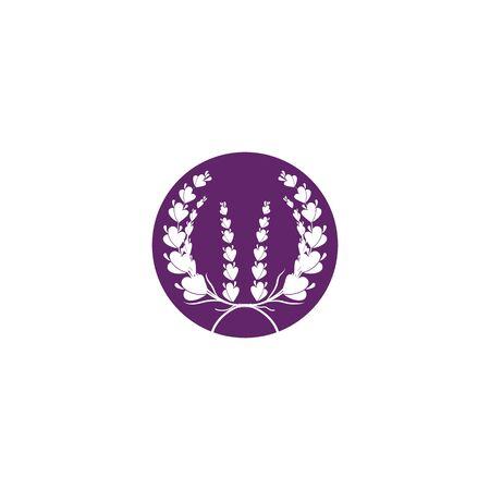 Lavender Logo Template vector symbol nature