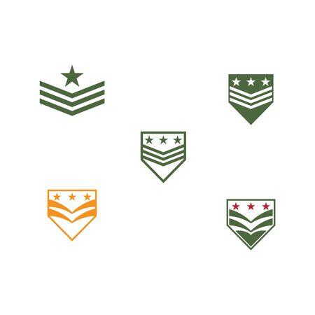 Military Logo Template vector symbol nature Vectores