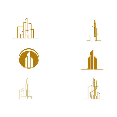 Set Real Estate , Property and Construction Logo design