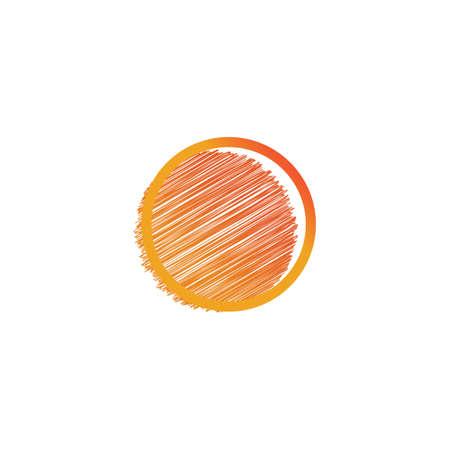 Sun Vector illustration Icon Logo Template design Ilustração