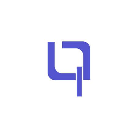 Q Leter Vector illustration Icon Logo Template design